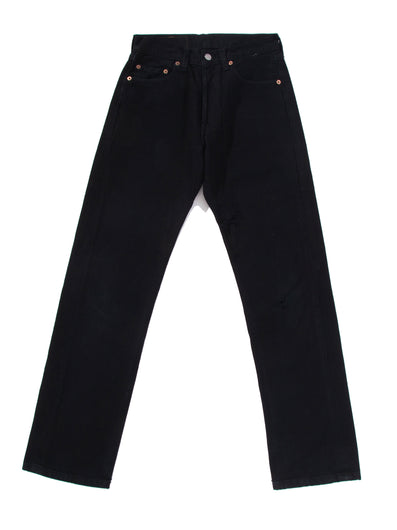 BLACK DENIM PANTS