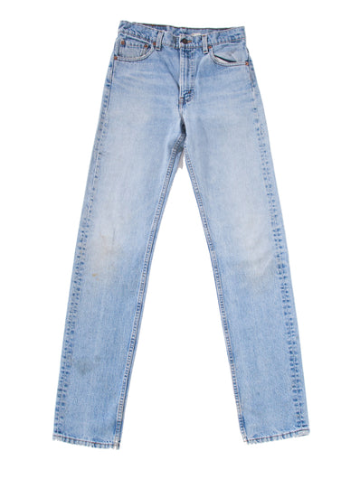 LIGHT WASHED DENIM PANTS