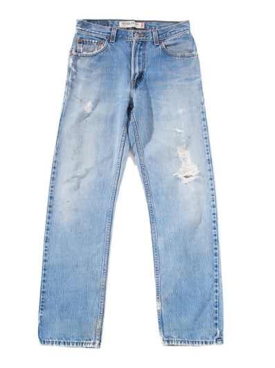 MEDIUM RIPPED DENIM PANTS