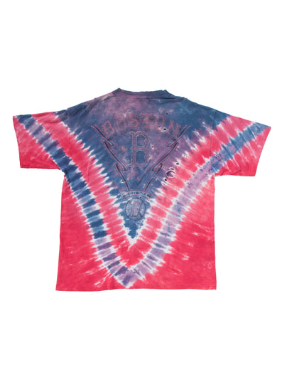 RED SOX RED TIE DYE T-SHIRT