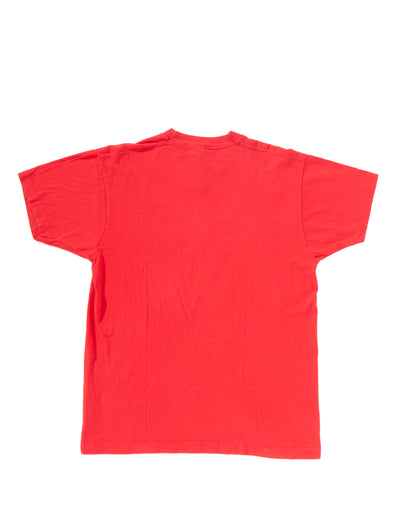 BRIGHT RED T-SHIRT