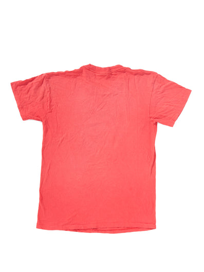 DOUBLE FADED RED T-SHIRT