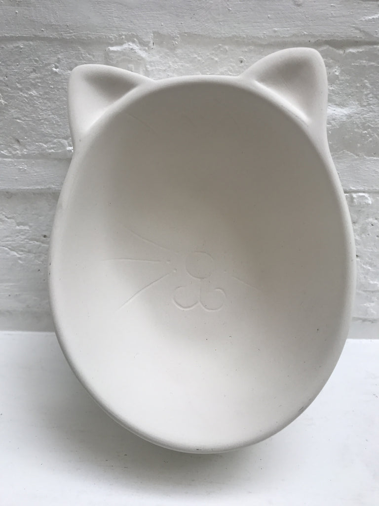 Cat bowl face