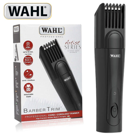WAHL 41030-0401 Professional Cordless Barber Trimmer-Black (110-220V)