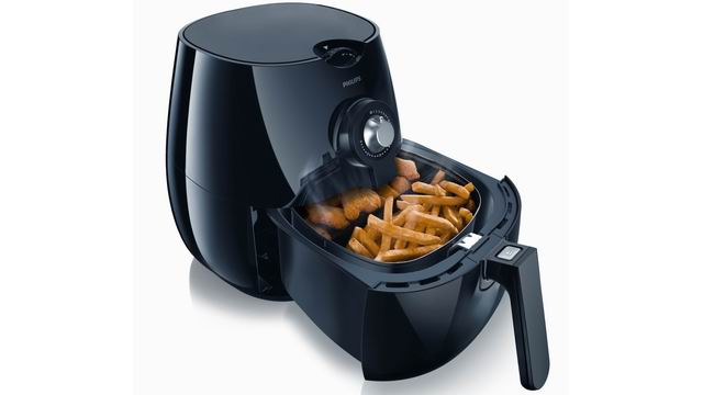 Philips Hd-9220 Viva Collection Air Fryer With Rapid Air Technology (black)