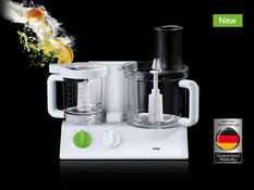Braun FX-3030 Food Processor 220 Volt/50 Hertz