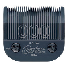 New Oster Titan Turbo 77 Hair Clipper Blade - Size 000 1/50 0.5mm For Fades