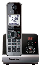 Panasonic KX-TG6721 Cordless Phone with 220V Adapter