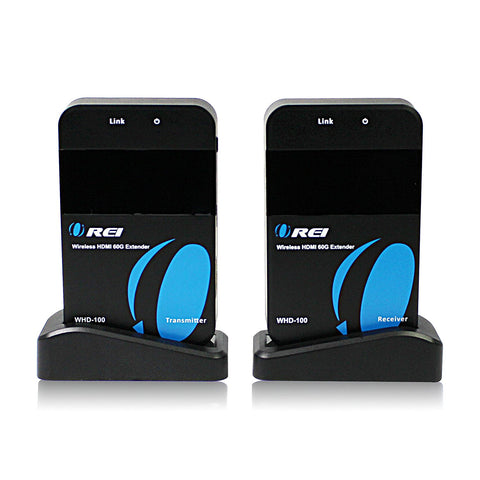 OREI Wireless HDMI Transmitter Extender WHD-100 - Upto 30 Meters In a Single Room
