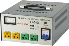 Seven Star AR-2000 2000 Watt Step Up / Down Voltage Transformer Converter Regulator