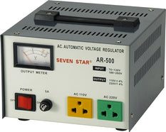 Seven Star AR-500 500 Watt Step Up / Down Voltage Transformer Converter Regulator
