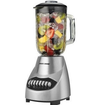 Black & Decker BLBD10GPSS 350W 10 Speed Blender (220 Volt)