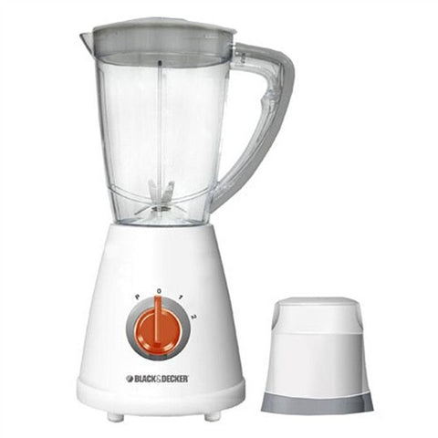 Black & Decker BX210 Blender with 1.5 Ltr Grinder Jar (220-240V)