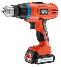Black & Decker EPL148K 14.4V 2 Gear Hammer Drill with Li-Ion/ Kitbox (220V)