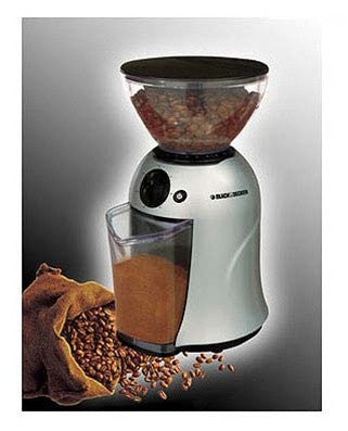 Black & Decker PRCBM5 Dry Coffee Grinder 12-cup Capacity (220V)
