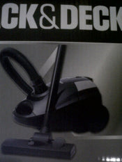 Black & Decker VM1430 1400W Vacuum Cleaner (220 Volt)