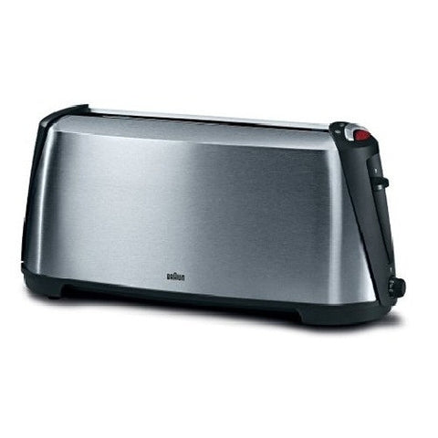 Braun HT600 1000W Sommelier 1 long extra-wide slot toaster (220V)