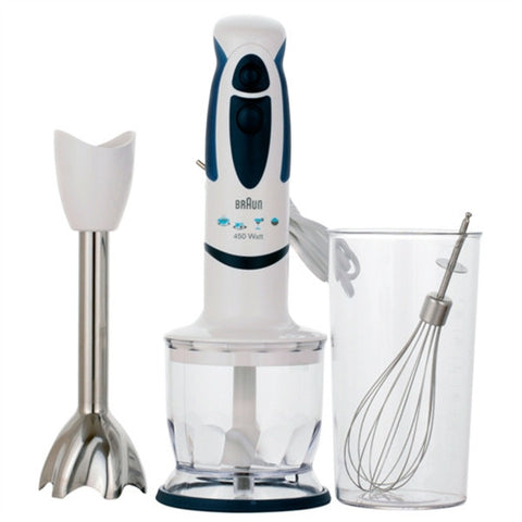 Braun MR320 400W Hand Blender W/ Chopper Attachment (220V)