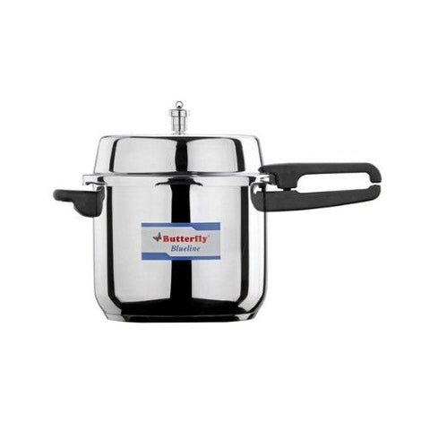 Butterfly 10 Liter Blue Line Stainless Steel Pressure Cooker