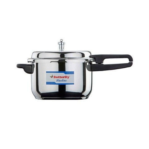 Butterfly 3.5 Liter Blue Line Stainless Steel Pressure Pan Cooker