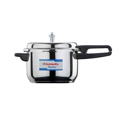 Butterfly 4.5 Liter Blue Line Stainless Steel Pressure Pan Cooker