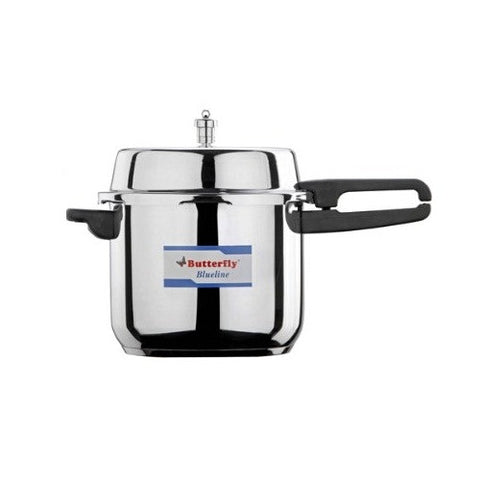 Butterfly 7.5 Liter Blue Line Stainless Steel Pressure Cooker