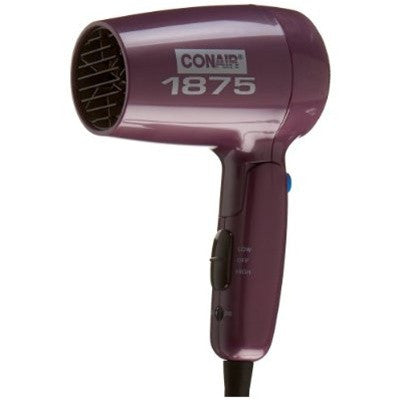 Conair 124AR 1600W Hair Dryer (110-220 V)