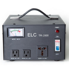 ELC TR-2000 2000-Watt Voltage Regulator Transformer Step up & Down 110/220V