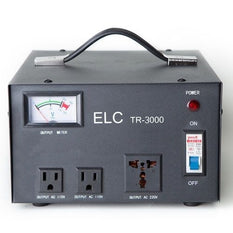 ELC TR-3000 3000-Watt Voltage Regulator Transformer Step up & Down 110/220V