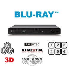 LG BP550 Multi Region Free DVD Blu-ray disc Player - 3D Support - WiFi