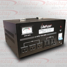 Litefuze LR-8000 Heavy Duty 8000 Watt Voltage Regulator/Converter