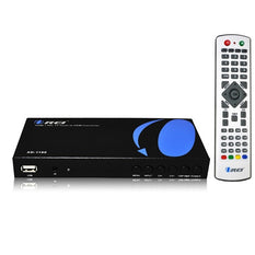 Orei XD-1190 Premium PAL HDMI / Composite to NTSC HDMI 50/60 Hz Multi-System Digital Audio Video Converter With Analog TV Tuner