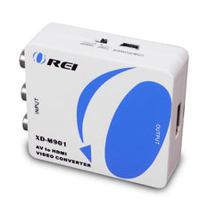 Orei XD-M901 Multi-System PAL/NTSC Signal Video Converter - w/ HDMI Output - 1080p/720p