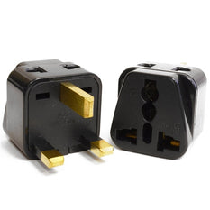 Type G - OREI Grounded 2 in 1 Plug Adapter (2Pack) - UK, Hong Kong, Singapore