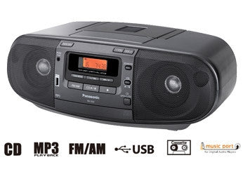 Panasonic RX-D53 Portable CD Radio Cassette player (220V)