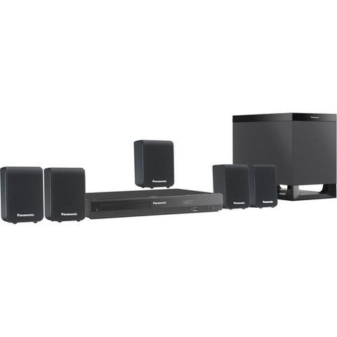 Panasonic SC-XH10 5.1 ch Multi-System Region Free Home Theater System (110-220V)