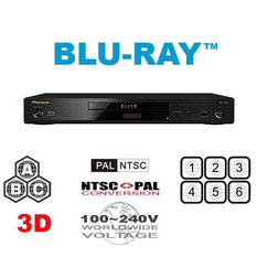 Pioneer BDP-80FD Elite Multi Region Code Free DVD Blu-ray disc Player - 3D Support