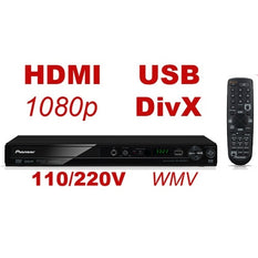 Pioneer DV-3052V 1080p HDMI Upconverting Region Free DVD Player