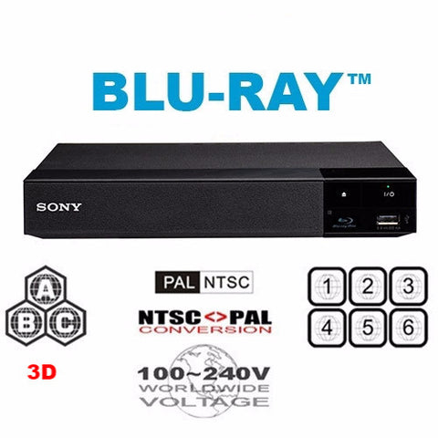 Sony BDP-S5500 Multi Region Code Free DVD  Blu-ray Disc Player