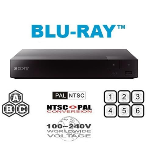 Sony BDP-S1700 Multi Region Free DVD Blu-ray Disc Player