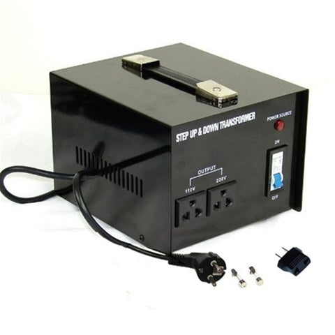 ST-1500 1500 Watt Step Up / Down Voltage Transformer Converter - 110/220V