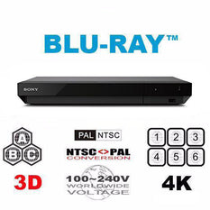 Sony UBP-X700 Multi Region Free 4K Ultra-HD Blu-ray Disc Player -  Wifi & 3D support