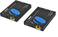OREI HDMI Extender UltraHD Over Single Cat6/Cat7 Cable 4K@60Hz with HDR & IR Control - Up to 165 ft EDID Management