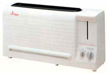 Universal CT-22 2 Slices Cool Wall Toaster (220-240V)