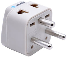 Type K - OREI Grounded 2 in 1 Plug Adapter - Denmark