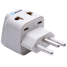 Type N - OREI Grounded 2 in 1 Plug Adapter - Brazil