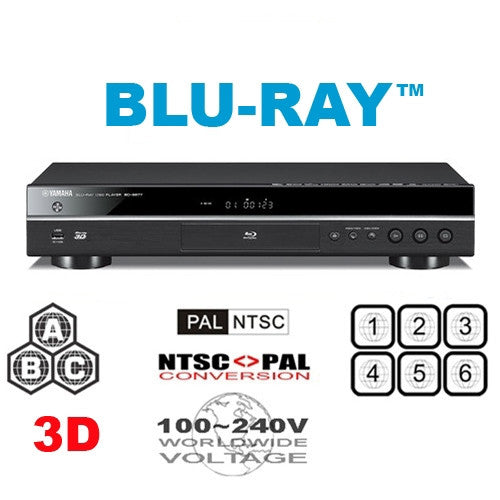 yamaha bd s677 s681 3d region free dvd blu ray player. Black Bedroom Furniture Sets. Home Design Ideas