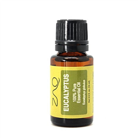 ZAQ Eucalyptus 100% pure Therapeutic Grade Essential Oil - 15 ml