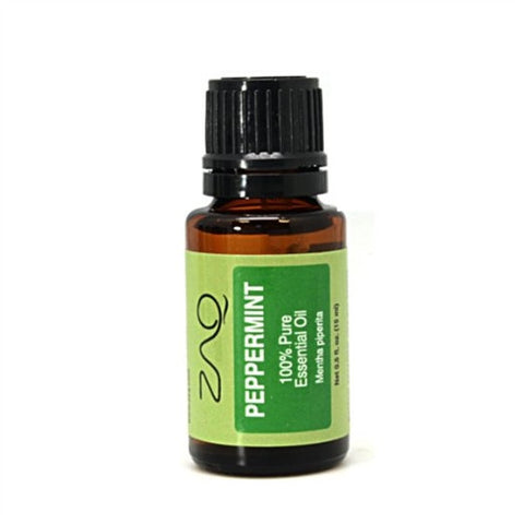 ZAQ Peppermint 100% pure Therapeutic Grade Essential Oil - 15 ml