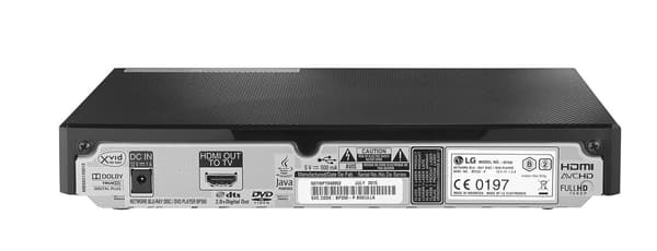LG BP350 Multi Region Free DVD Blu-ray disc Player - WiFi Support -
